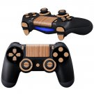Wooden Color design PS4 Controller Full Buttons skin