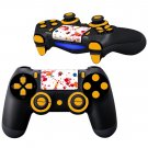 Falling Petals design PS4 Controller Full Buttons skin
