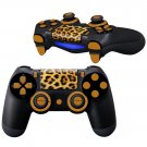 Leopard Skin Design PS4 Controller Full Buttons skin