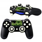 Fire leaves Design PS4 Controller Full Buttons skin