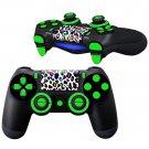 MultiColor Leopard Design PS4 Controller Full Buttons skin