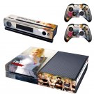 Dead or Alive 5 design skin for Xbox one decal sticker console