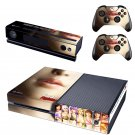 Dead or Alive 5 I'm a Fighter design skin for Xbox one decal sticker console