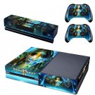 Starcraft 2 legacy of the void design skin for Xbox one decal sticker console