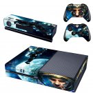 Starcraft 2 design skin for Xbox one decal sticker console