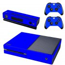 Blue design skin for Xbox one decal sticker console