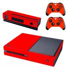 Arsenal Red design skin for Xbox one decal sticker console