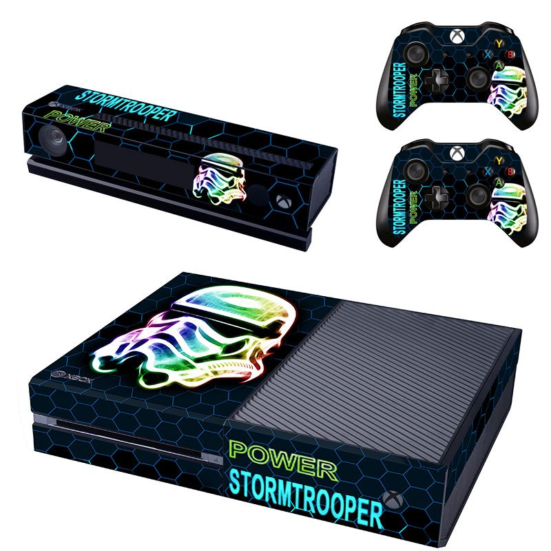 Storm Trooper Power design skin for Xbox one decal sticker console