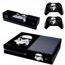 Stormtrooper design skin for Xbox one decal sticker console
