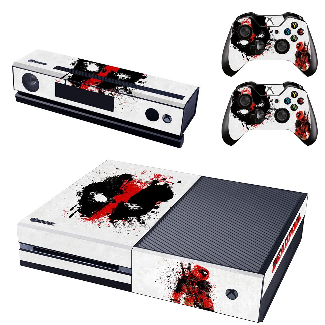 Deadpool Wallpapers design skin for Xbox one decal sticker console