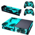 Smoky Skulls design skin for Xbox one decal sticker console