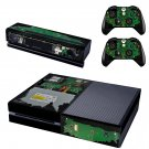 Computer Circuit design skin for Xbox one decal sticker console