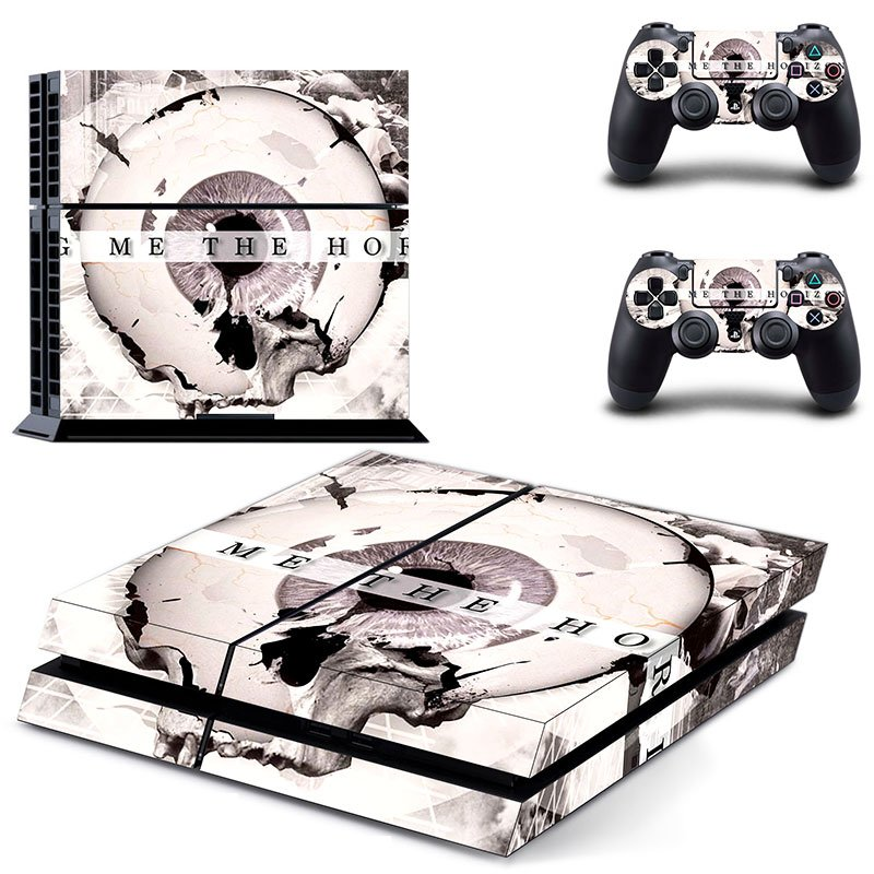 bring me the horizon design decal for ps4 console skin