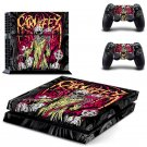Carnifex Design decal for PS4 console skin sticker decal-design