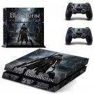 Blood Borne Design decal for PS4 console skin sticker decal-design