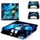 Black Rock Shooter Design decal for PS4 console skin sticker decal-design