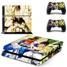 Dragon Ball fierce fighting Design decal for PS4 console skin sticker decal-design