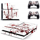 Drops Blood design decal for PS4 console skin sticker decal-design