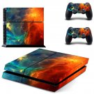 Cloud Stars design decal for PS4 console skin sticker decal-design