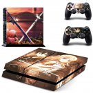 Sword Art design decal for PS4 console skin sticker decal-design