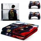 Messi design decal for PS4 console skin sticker decal-design