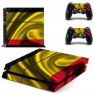 Golden Color design decal for PS4 console skin sticker decal-design