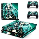 Hatsune Miku design decal for PS4 console skin sticker decal-design