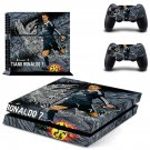 Ronaldo 7 design decal for PS4 console skin sticker decal-design
