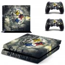 Steelers design decal for PS4 console skin sticker decal-design