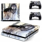 Wolf design decal for PS4 console skin sticker decal-design