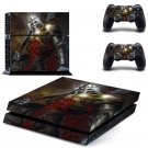 Leoric design decal for PS4 console skin sticker decal-design
