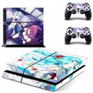 Manga design decal for PS4 console skin sticker decal-design