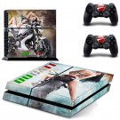 Dugati design decal for PS4 console skin sticker decal-design