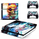 Sick Skull design decal for PS4 console skin sticker decal-design