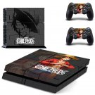 One Piece Black design decal for PS4 console skin sticker decal-design
