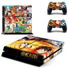 Chopper one piece design decal for PS4 console skin sticker decal-design