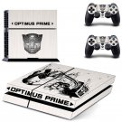Transformer Autobots design decal for PS4 console skin sticker decal-design