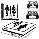 WC Skin design decal for PS4 console skin sticker decal-design