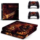 Katarina design decal for PS4 console skin sticker decal-design