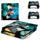 Geometric Superheroes design decal for PS4 console skin sticker decal-design