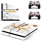 Stephen Curry design decal for PS4 console skin sticker decal-design