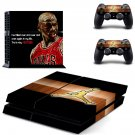 LeBron James design decal for PS4 console skin sticker decal-design