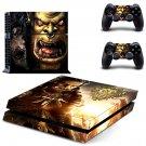 Warcraft 3 Frozen Throne design decal for PS4 console skin sticker decal-design