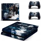 Suicide Silence design decal for PS4 console skin sticker decal-design