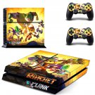 Ratchet & Clank design decal for PS4 console skin sticker decal-design
