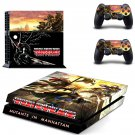 Teenage Mutant Ninja Turtles design decal for PS4 console skin sticker decal-design
