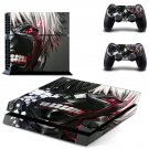 Tokyo ghoul manga anime decal for PS4 PlayStation 4 console and 2 controllers