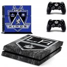 Los angeles kings decal for PS4 PlayStation 4 console and 2 controllers