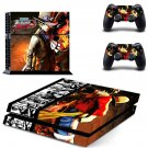 one piece burning blood decal for PS4 PlayStation 4 console and 2 controllers