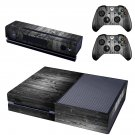 Wooden Board skin decal for  Xbox one console and 2 controllers